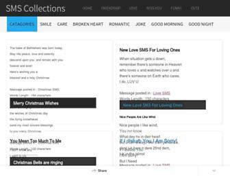 smscollectionsblog.blogspot.com screenshot