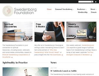 swedenborg.com screenshot