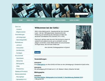 gasl.org screenshot