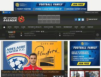 Thumbshot of A-league.com.au