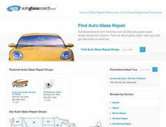 autoglasssearch.com screenshot