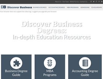 discoverbusiness.us screenshot