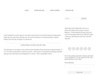 Main page screenshot of manuk.ro