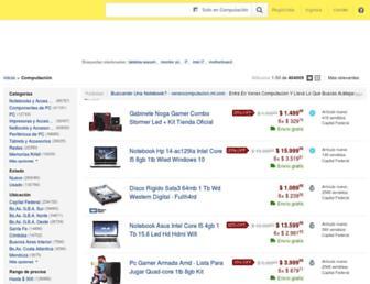 computacion.mercadolibre.com.ar screenshot