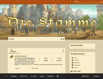 forum.die-staemme.de screenshot