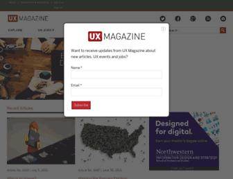 Thumbshot of Uxmag.com