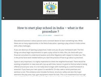Thumbshot of Indianchild.com
