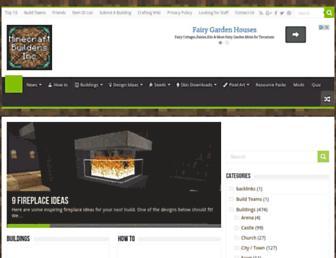 minecraftbuildinginc.com screenshot