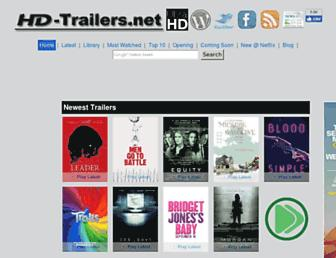 hd-trailers.net screenshot