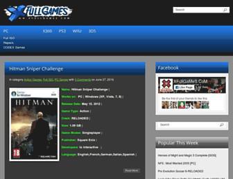 xfullgames.com screenshot