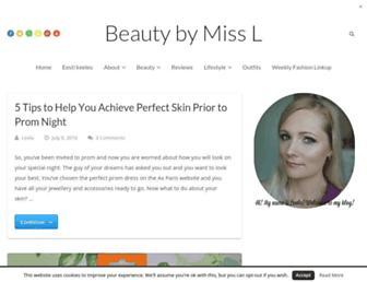 Thumbshot of Beautybymissl.com