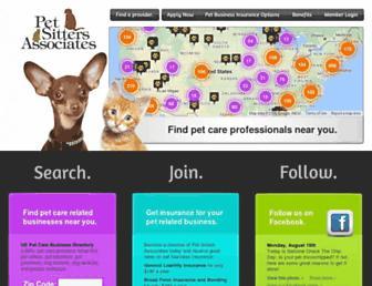 petsitllc.com screenshot