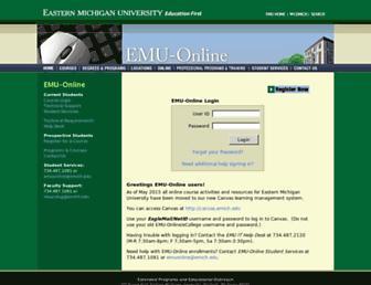 Thumbshot of Emuonline.edu