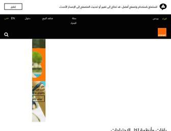 Thumbshot of Mobinil.com