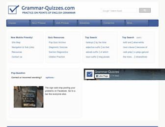 grammar-quizzes.com screenshot