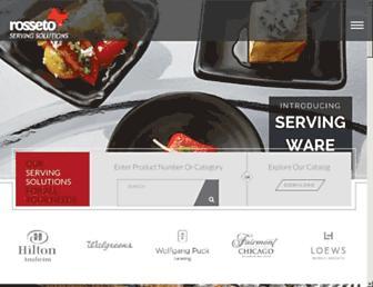 rosseto.com screenshot