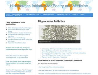 hippocrates-poetry.org screenshot