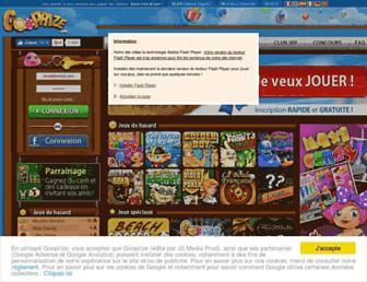 Thumbshot of Gooprize.com