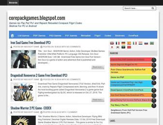 corepackgames.blogspot.co.id screenshot