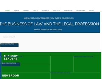 legalbusinessworld.com screenshot