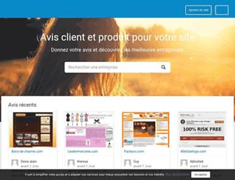 webwiki.fr screenshot