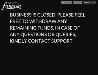 Thumbshot of Casinofantasia.com