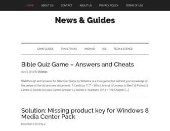 newsandguides.com screenshot