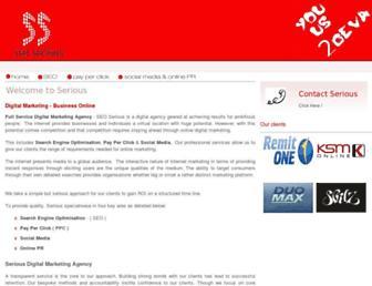 seo-serious.com screenshot