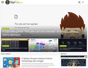 sipitek.com screenshot