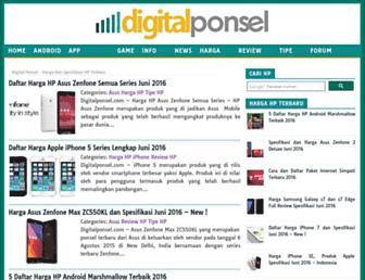 digitalponsel.com screenshot