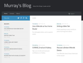 blog.ligos.net screenshot