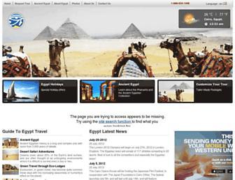 Fullscreen thumbnail of touregypt.net