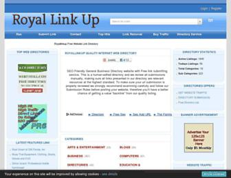 Thumbshot of Royallinkup.com
