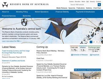 Thumbshot of Rba.gov.au