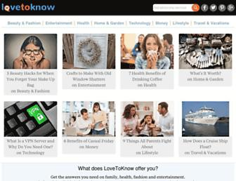 Thumbshot of Lovetoknow.com