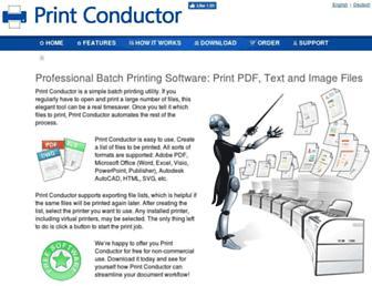 print-conductor.com screenshot