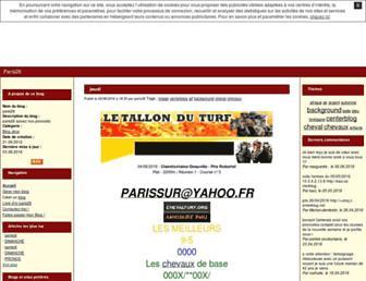 paris26.centerblog.net screenshot