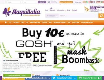 maquillalia.com screenshot