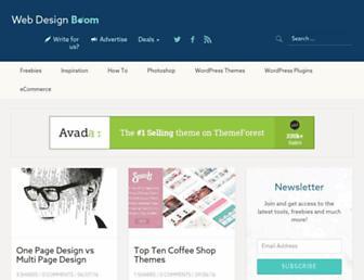 Thumbshot of Webdesignboom.net
