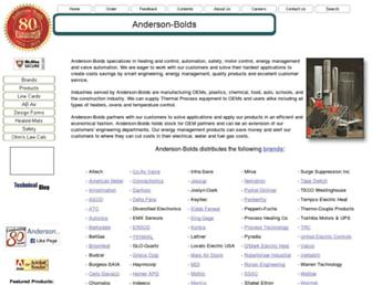 anderson-bolds.com screenshot