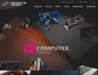 rog.asus.com screenshot