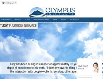 olympusinsurance.com screenshot