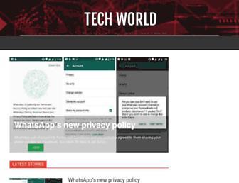 worldfortechie.blogspot.com screenshot
