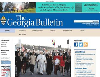 georgiabulletin.org screenshot