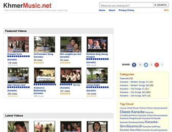 khmermusic.net screenshot