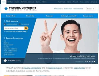 Thumbshot of Vu.edu.au