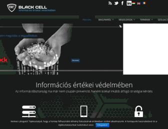 blackcell.hu screenshot