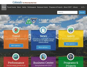 codot.gov screenshot