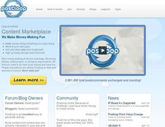 Thumbshot of Postloop.com