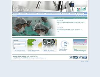 Main page screenshot of opolanco.es